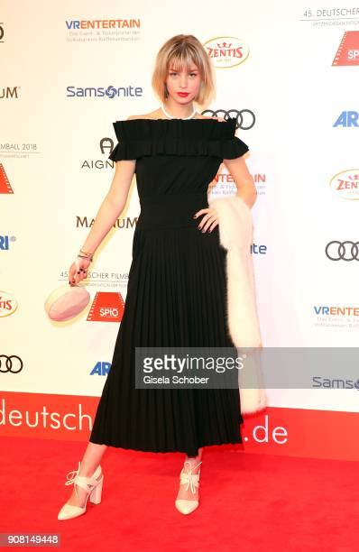 Hanna Binke during the German Film Ball 2018 at Hotel Bayerischer Hof on January 20 2018 in Munich Germany