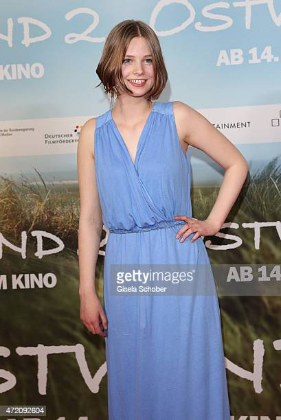 Hanna Binke during the German premiere of the film 'Ostwind 2' on May 3 2015 in Munich Germany