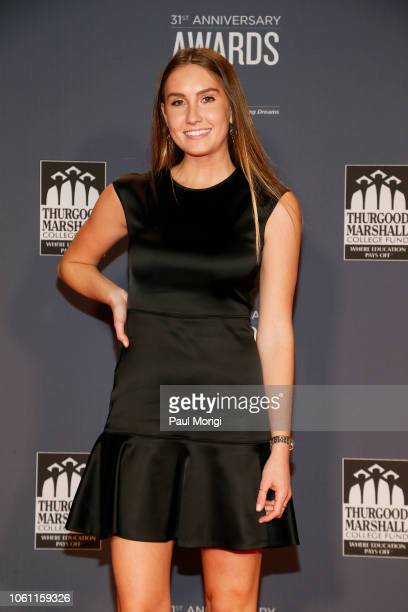 Hanna Bogorowski, Politics Reporter for The Daily Caller, arrives at the Thurgood Marshall College Fund 31st Anniversary Awards Gala on October 29,...