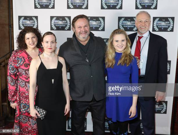 Hanna Edwards Alissa Arnold Olan Montgomery Karen Frances Todd Lewis attend the World Premiere of ALTERSCAPE directed by Serge Levin at The Philip K...