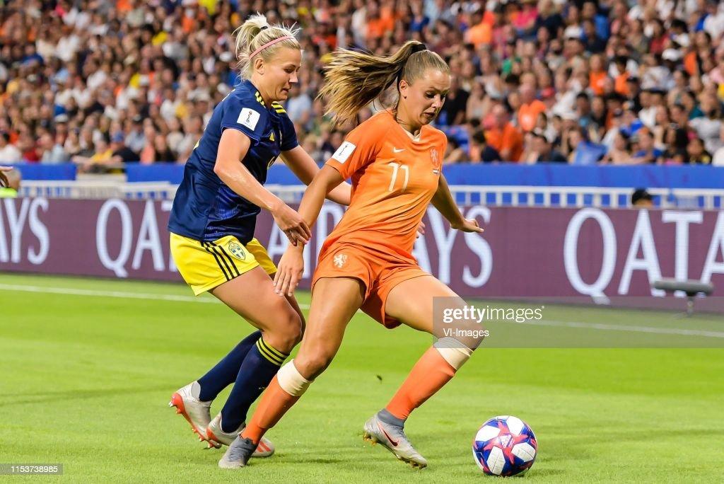 "FIFA Women's World Cup France 2019""Women: The Netherlands v Sweden"" : News Photo"