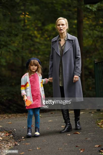 THE BLACKLIST Hanna Hayes Episode 707 Pictured Sarah/Emily Kell as Agnes Keen Laila Robins as Katarina Rostova