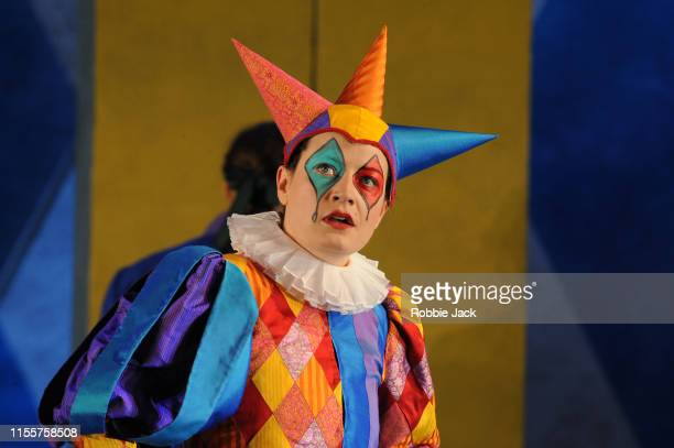 Hanna Hipp as Fantasio in Garsington Opera's production of Jacques Offenbach's Fantasio directed by Martin Duncan and conducted by Justin Doyle at...