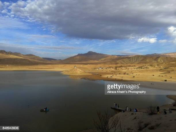 hanna lake, quetta, balochistan - quetta stock pictures, royalty-free photos & images
