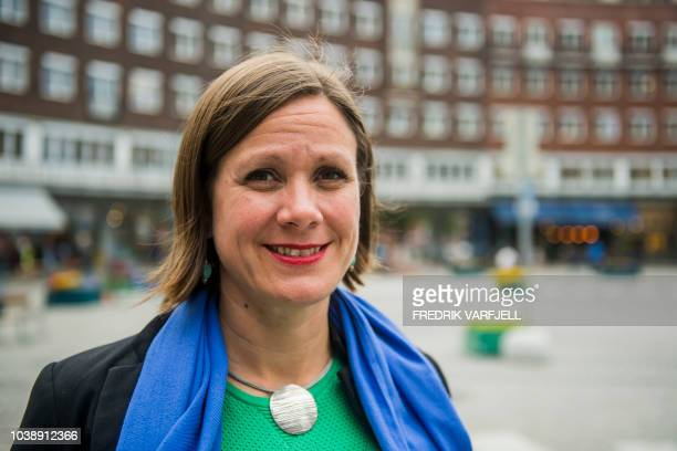 Hanna Marcussen Greens city councillor in charge of urban development poses for a picture on September 6 2018 in Oslo Determined to go green Oslo is...