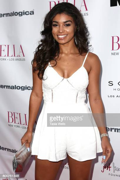 Hanna Monds attends the BELLA Los Angeles Summer Issue Cover Launch Party at Sofitel Los Angeles At Beverly Hills on June 23 2017 in Los Angeles...