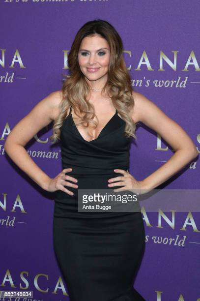 Hanna Nitsche attends the the opening of the 'Sound of Passion' exhibition at Hotel De Rome on November 30 2017 in Berlin Germany