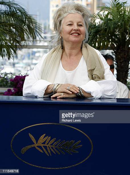 Hanna Schygulla during 2007 Cannes Film Festival Auf der Anderen Seite Photocall at Palais des Festivals in Cannes France