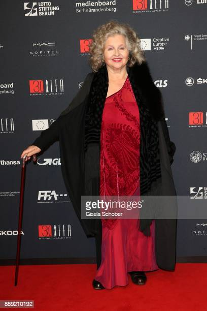 Hanna Schygulla during the 30th European Film Awards 2017 at 'Haus der Berliner Festspiele' on December 9 2017 in Berlin Germany