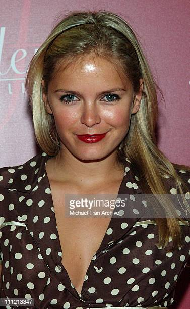 Hanna Verboom during Frederick's of Hollywood 2006 Spring Collection Fashion Show at The Avalon in Hollywood California United States