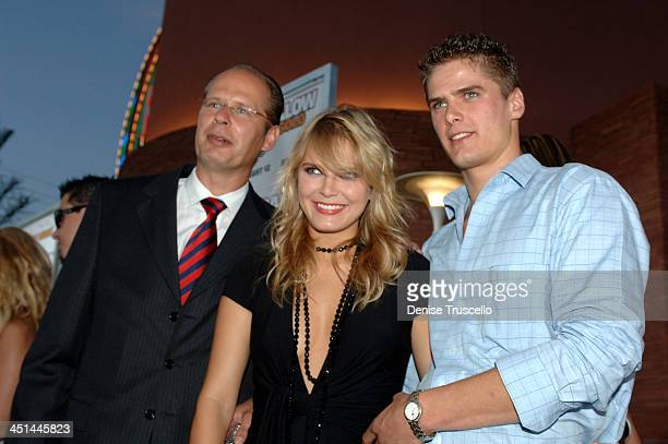 Hanna Verboom with her Father Mr Verboom and Brother Lucas