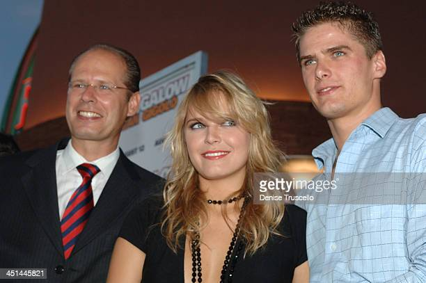 Hanna Verboom with her Father Mr Verboom and Brother Lucas Verboom