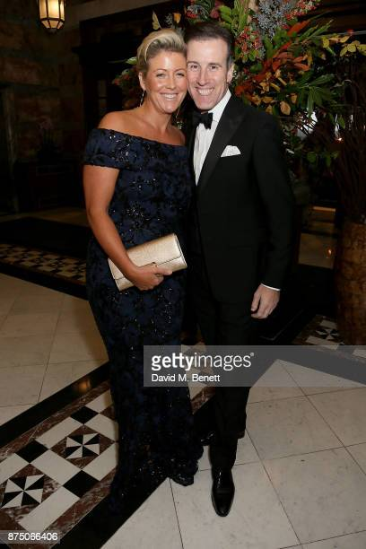 Hannah and Anton Du Beke attend The Borne Wonderland Gala 2017 at 8 Northumberland Avenue on November 16 2017 in London England