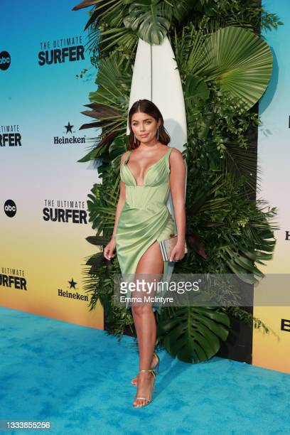 """Hannah Ann Sluss attends ABC's """"Bachelor In Paradise"""" And """"The Ultimate Surfer"""" Premiere at Fairmont Miramar - Hotel & Bungalows on August 12, 2021..."""