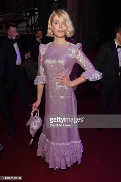 Hannah Arterton attends the after party of the 65th Evening Standard Theatre Awards In Association With Michael Kors at London Coliseum on November...