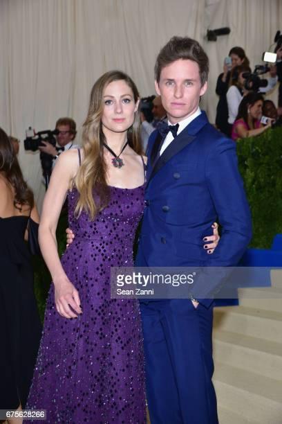 Hannah Bagshawe and Eddie Redmayne arrive at 'Rei Kawakubo/Comme des Garcons Art Of The InBetween' Costume Institute Gala at The Metropolitan Museum...