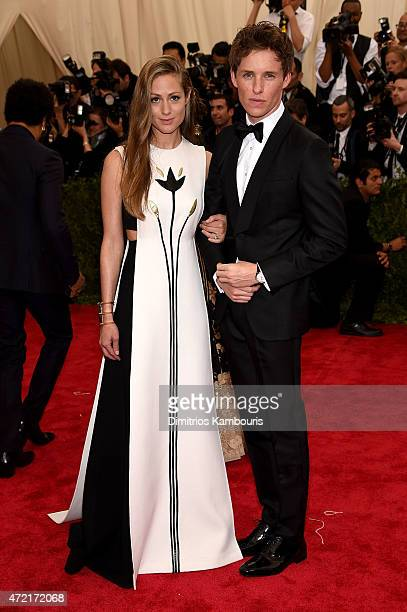 Hannah Bagshawe and Eddie Redmayne attend the 'China Through The Looking Glass' Costume Institute Benefit Gala at the Metropolitan Museum of Art on...