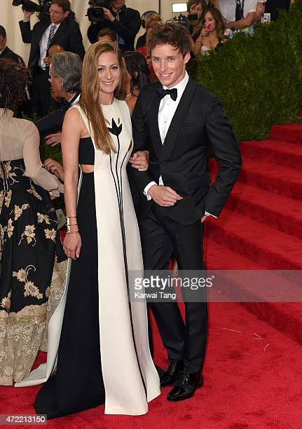Hannah Bagshawe and Eddie Redmayne attend the 'China Through The Looking Glass' Costume Institute Benefit Gala at Metropolitan Museum of Art on May 4...
