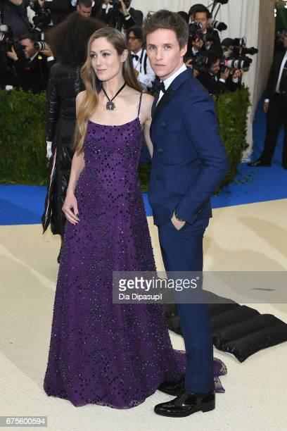 Hannah Bagshawe and Eddie Redmayne attend the 'Rei Kawakubo/Comme des Garcons Art Of The InBetween' Costume Institute Gala at Metropolitan Museum of...