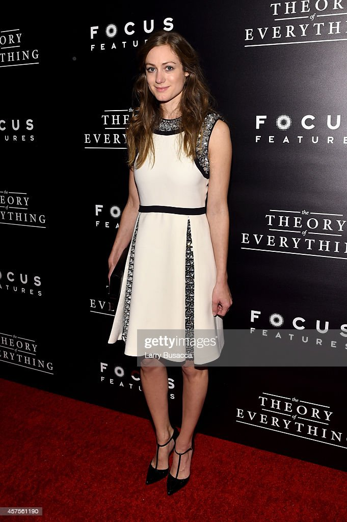 Hannah Bagshawe attends 'The Theory Of Everything' New York Premiere at Museum of Modern Art on October 20, 2014 in New York City.