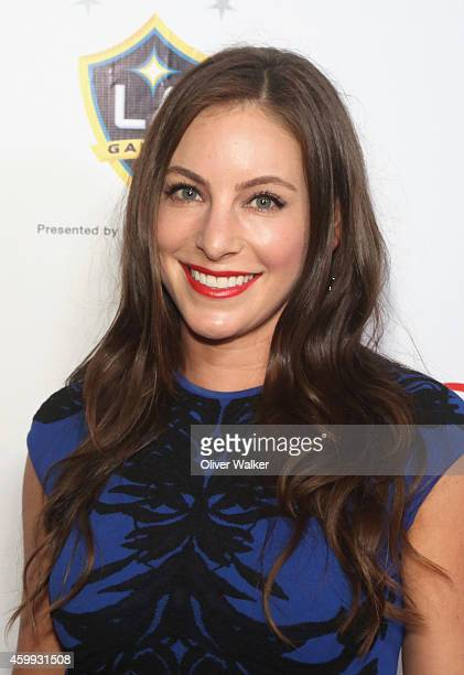 Hannah Bartell arrives at the MakeAWish Greater Los Angeles Wishing Well Winter Gala at the Beverly Wilshire Four Seasons Hotel on December 3 2014 in...