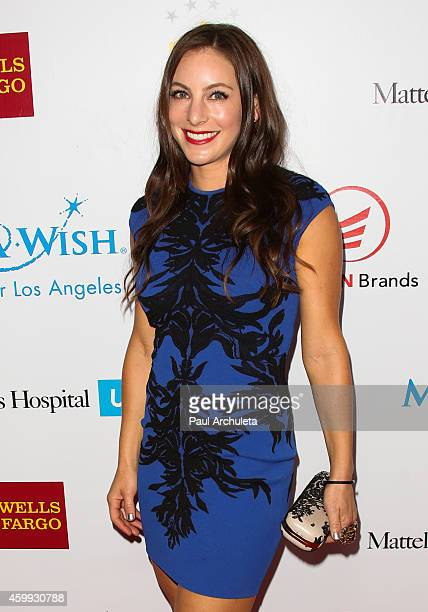 Hannah Bartell attends the 2nd Annual MakeAWish Wishing Well Winter Gala for a greater Los Angeles at the Beverly Wilshire Four Seasons Hotel on...