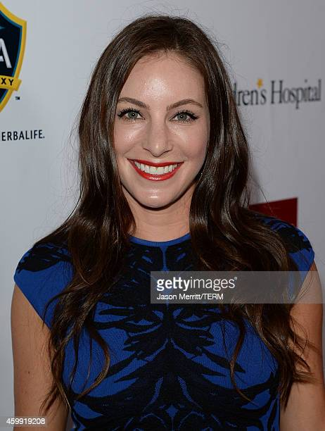 Hannah Bartell attends the MakeAWish Greater Los Angeles Wishing Well Winter Gala at the Wilshire Four Seasons Hotel on December 3 2014 in Beverly...