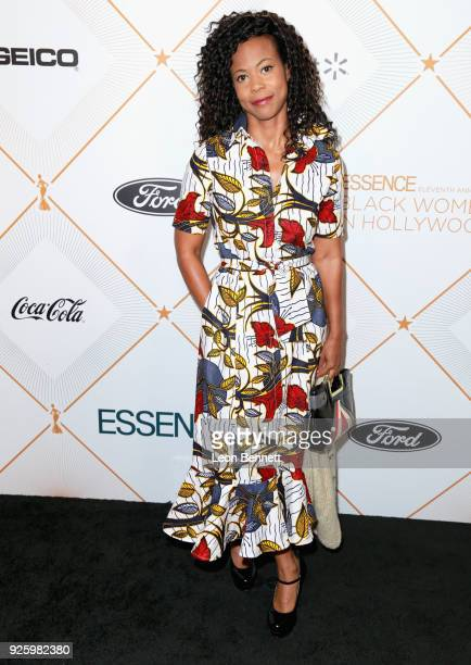 Hannah Beachler attends the 2018 Essence Black Women In Hollywood Oscars Luncheon at Regent Beverly Wilshire Hotel on March 1 2018 in Beverly Hills...