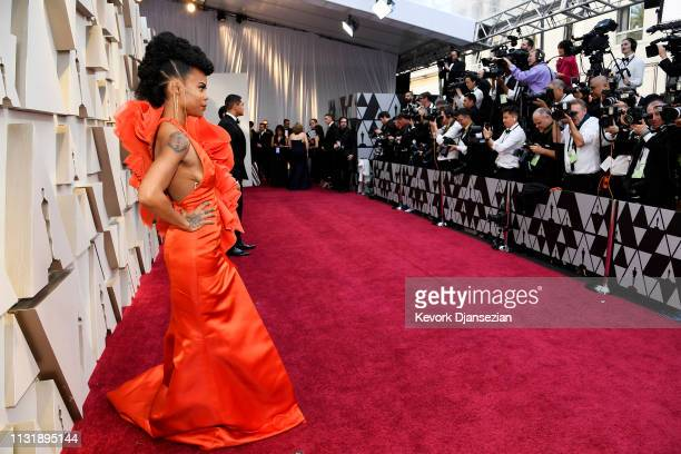 Hannah Beachler attends the 91st Annual Academy Awards at Hollywood and Highland on February 24 2019 in Hollywood California
