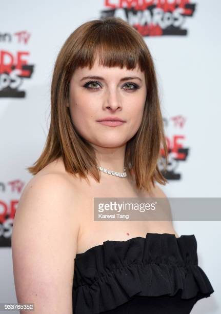 Hannah Britland attends the Rakuten TV EMPIRE Awards 2018 at The Roundhouse on March 18 2018 in London England
