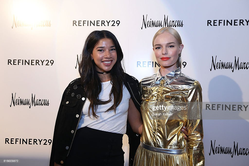 DJ Hannah Bronfman and Actress Kate Bosworth attend Refinery29's School of Self Expression opening night party presented by Neiman Marcus during SXSW on March 11, 2016 in Austin, Texas.