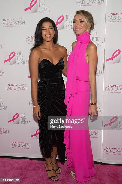 Hannah Bronfman and TV Personality Guiliana Rancic attend The Pink Agenda 2016 Gala at Three Sixty on October 13 2016 in New York City