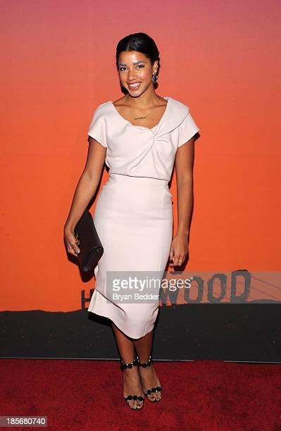 Hannah Bronfman arrives for the Whitney Museum of American Art Gala & Studio Party 2013 Supported By Louis Vuitton at Skylight at Moynihan Station on...