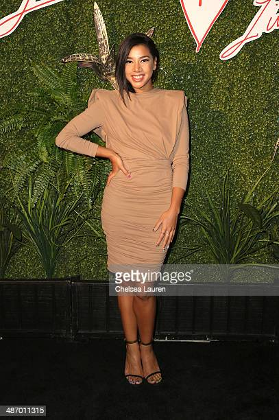 Hannah Bronfman attends Lanvin And Living Beauty Host An Evening Of Fashion on April 26 2014 in Beverly Hills California