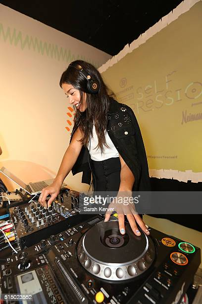 Hannah Bronfman attends Refinery29's School of Self Expression opening night party presented by Neiman Marcus during SXSW on March 11 2016 in Austin...
