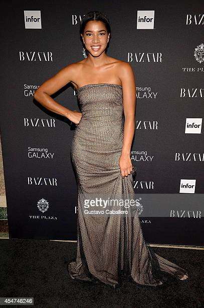 Hannah Bronfman attends Samsung GALAXY At Harper's BAZAAR Celebrates Icons By Carine Roitfeld at The Plaza Hotel on September 5 2014 in New York City