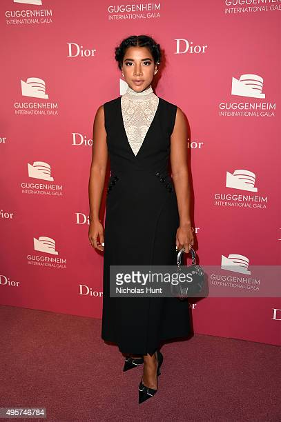 Hannah Bronfman attends the 2015 Guggenheim International Gala PreParty made possible by Dior at Solomon R Guggenheim Museum on November 4 2015 in...