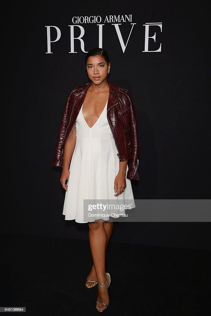 Giorgio Armani Prive : Front Row - Paris Fashion Week - Haute Couture Fall/Winter 2016-2017
