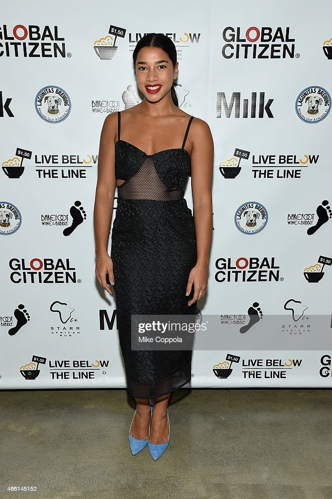 DJ Hannah Bronfman attends The Global Poverty Project hosted 4th annual Live Below The Line launch party at Milk Studios on March 13, 2015 in New York City.