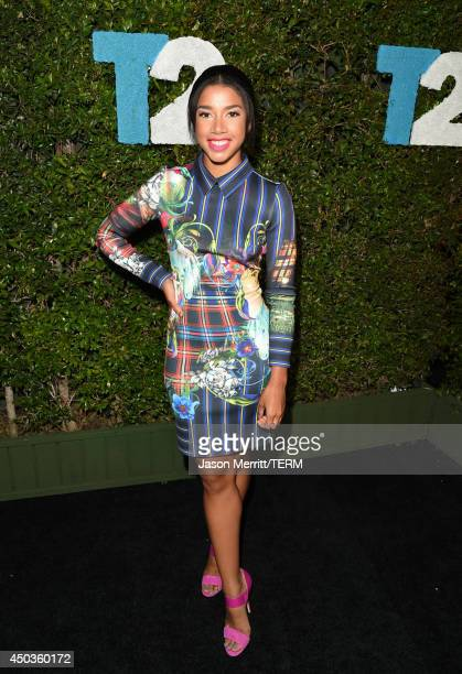 Hannah Bronfman attends the TakeTwo E3 Kickoff Party at Cecconi's Restaurant on June 9 2014 in Los Angeles California