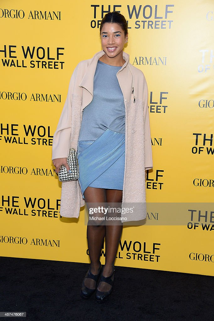 Hannah Bronfman attends the 'The Wolf Of Wall Street' premiere at the Ziegfeld Theatre on December 17, 2013 in New York City.