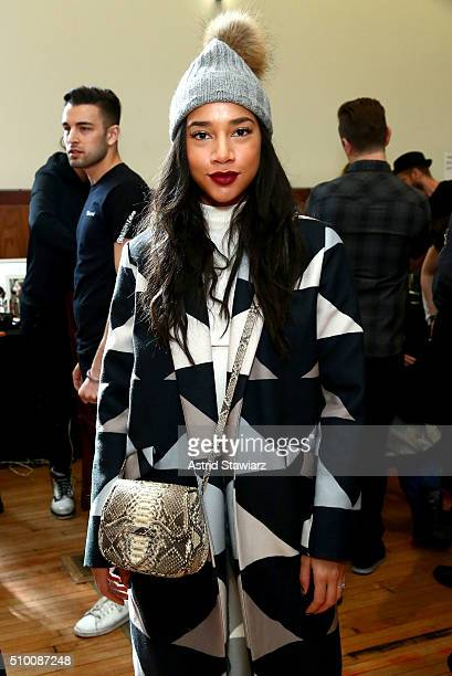 Hannah Bronfman attends the TRESemme at Mara Hoffman A/W16 Presentation at High Line Hotel The Refectory on February 13 2016 in New York City