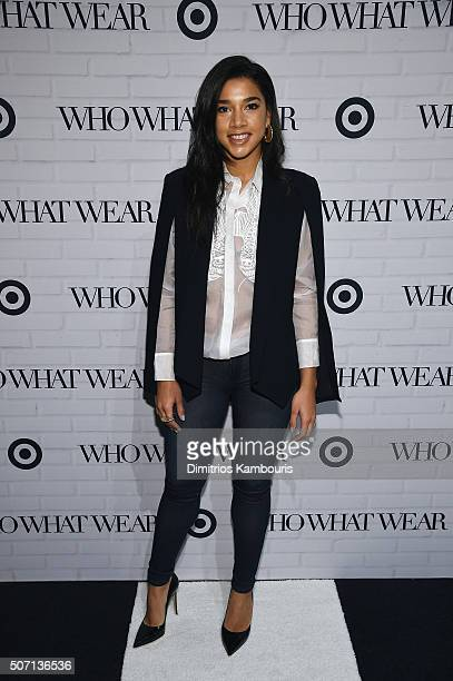 Hannah Bronfman attends Who What Wear x Target launch party at ArtBeam on January 27 2016 in New York City