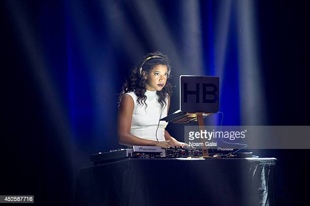 Hannah Bronfman performs at R Baby Foundation's Rockin' To Save Babies' Lives Benefit Concert Presented By Z100 at Hammerstein Ballroom on July 23...