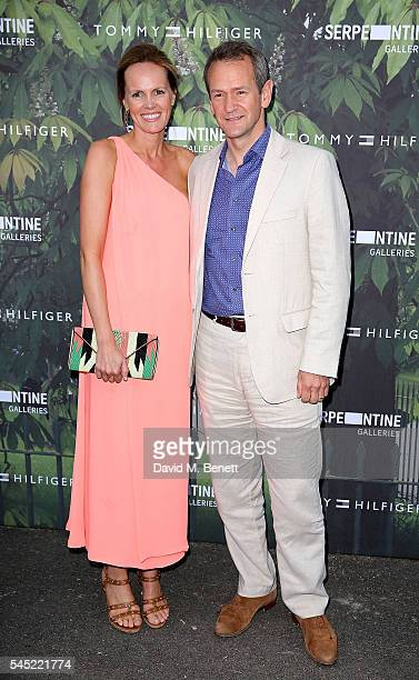 Hannah Bronwen Snow and Alexander Armstrong attend The Serpentine Summer Party CoHosted By Tommy Hilfiger at The Serpentine Gallery on July 6 2016 in...