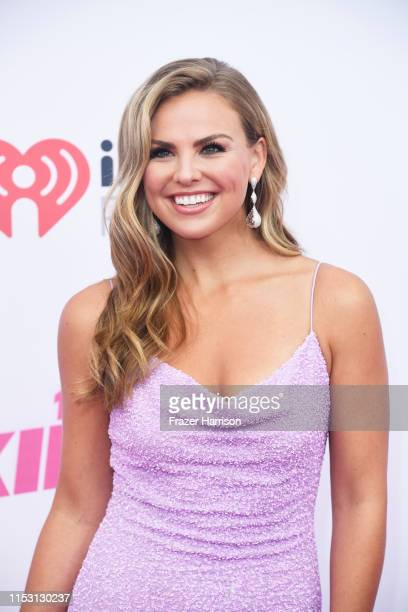 Hannah Brown attends 2019 iHeartRadio Wango Tango presented by The JUVÉDERM® Collection of Dermal Fillers at The Dignity Health Sports Park on June...