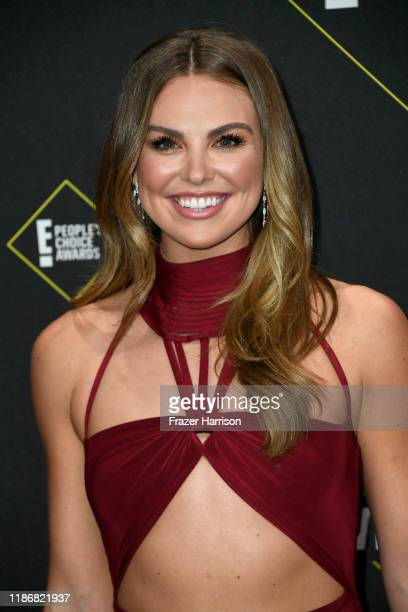 Hannah Brown attends the 2019 E People's Choice Awards at Barker Hangar on November 10 2019 in Santa Monica California