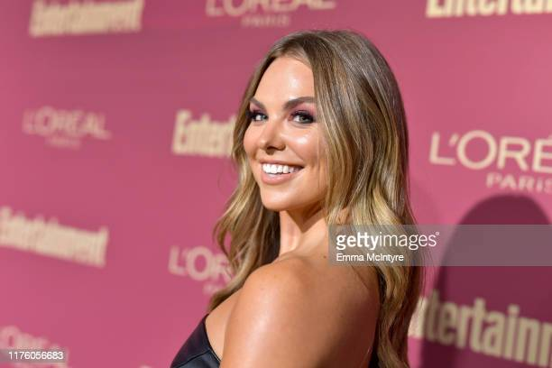 Hannah Brown attends the 2019 PreEmmy Party hosted by Entertainment Weekly and L'Oreal Paris at Sunset Tower Hotel in Los Angeles on Friday September...
