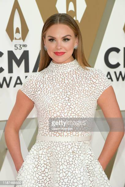 Hannah Brown attends the 53rd annual CMA Awards at the Music City Center on November 13 2019 in Nashville Tennessee