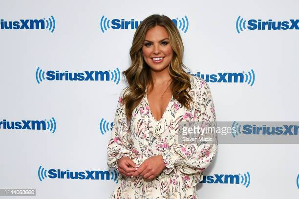 Hannah Brown from 15th season of The Bachelorette visits SiriusXM Studios on May 16 2019 in New York City